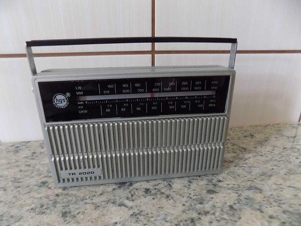 Radio vintage portabil HGS ELECRONIC FM / MW- anii 80