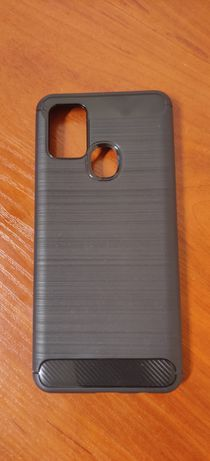 Луксозен черен кейс карбон за Samsung Galaxy A21s
