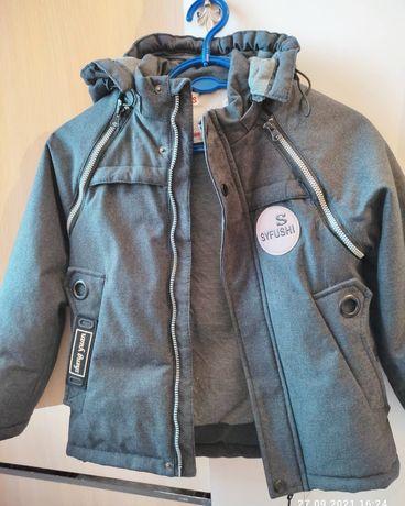 Куртка трансформер осень на 5-6 лет
