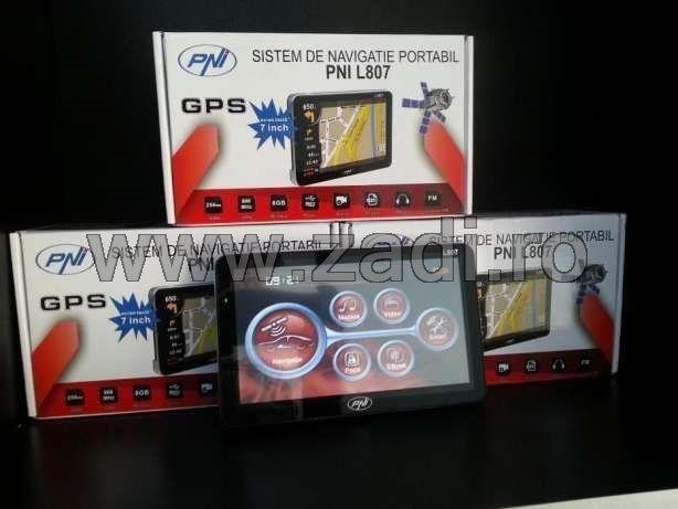 Gps pni l807-cu-harti-pentru-camioane full Europa-garantie si livrare