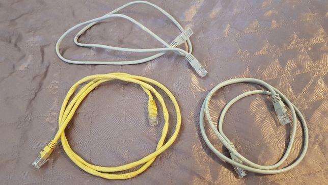 Cablu retea internet CAT 5 mufat RJ45 de vanzare la pret bun