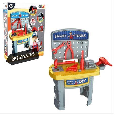 Детска работилница с инструменти Детски играчки