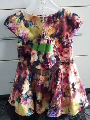 Детска рокля с чанта Юнона