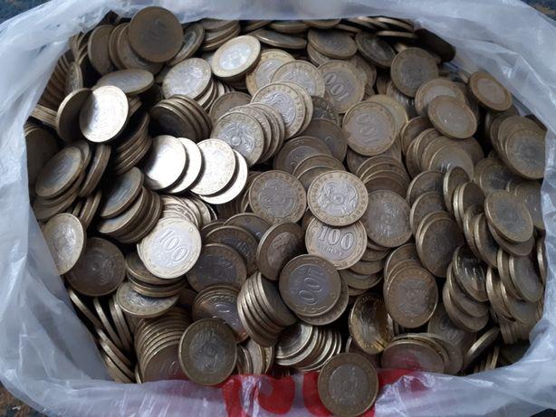 Меняю 100 000 тг монеты на 110 000 тг