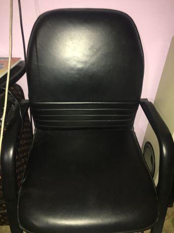 Кресло кожанный