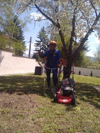 Градинарски услуги, косене, прекопаване и подрязване