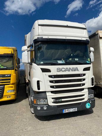 Scania R440 cu semiremorca Krone