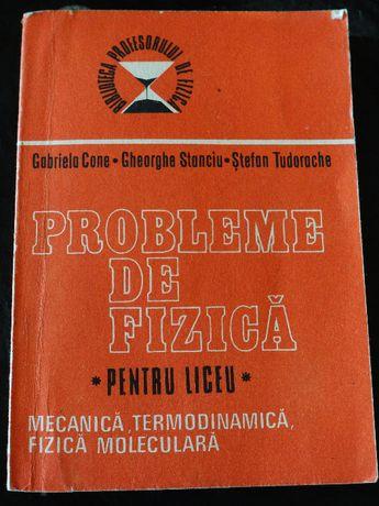 Probleme de fizică pentru liceu, vol 1, Gabriela Cone