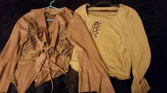 Две дамски блузи и пола