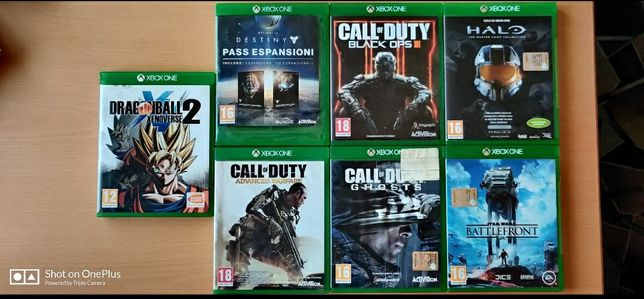 Jocuri Xbox One Call of Duty, Halo, Destiny, Dragon Ball, Star Wars