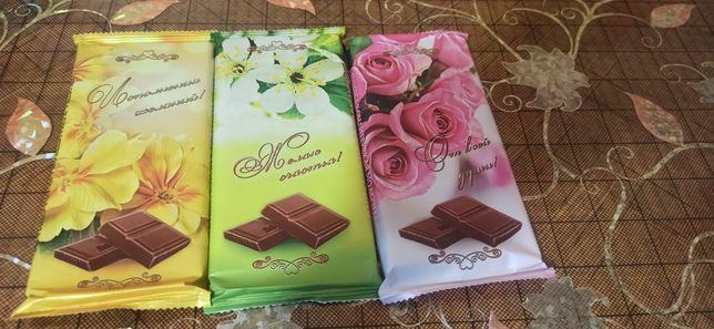 Шоколад (плитка молочная). Цена за все 500