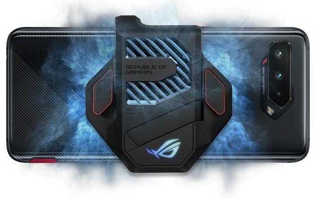 AeroActive Coooler 5 с триггерами и стойкой! (ASUS ROG Phone 5)