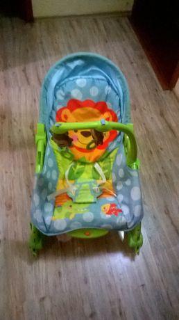 Бебешки шезлонг + детско столче BabyMix 2 в 1