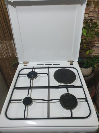 Комбинированная плита Индезит