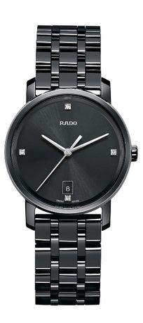 Дамски часовник Rado DiaMaster Diamond Black Dial Ceramic