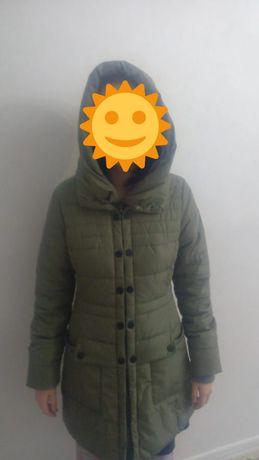 Куртка осень - весна зелёная