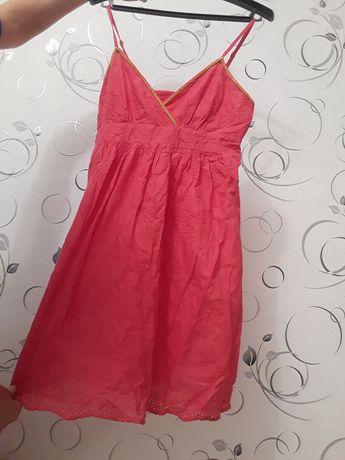 Легкое офигенное платье для беременных