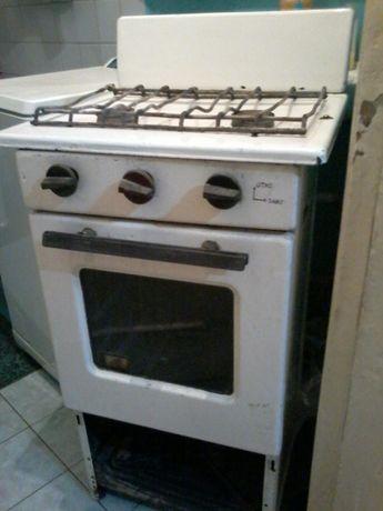 Плита газовая рабочая (2 горелки и духовка)