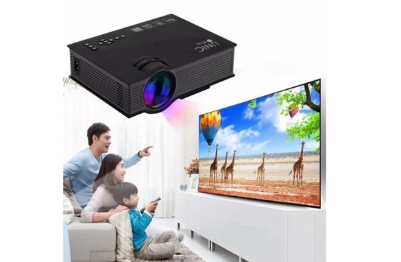 24м гаранция Led проектор unic uc46+ uc68 wifi