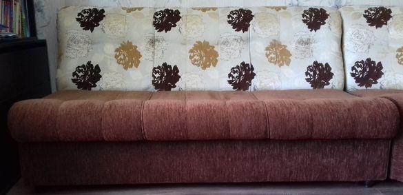 Разтегателен ъглов диван – 4 части