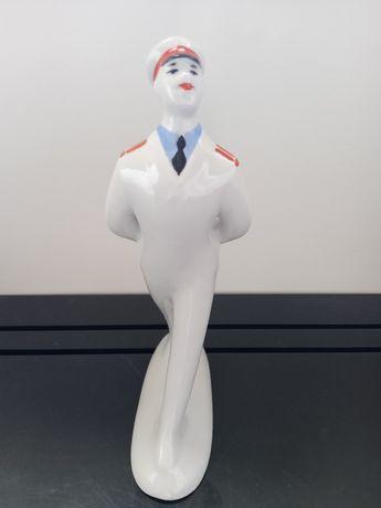 Фарфоровая статуэтка. 60-е.