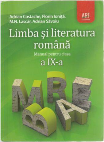 manual limba si literatura romana cls IX