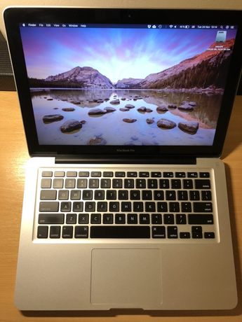 Macbook Pro 13 inch (late 2011) upgrade DDR3 16GB si SSD 240GB