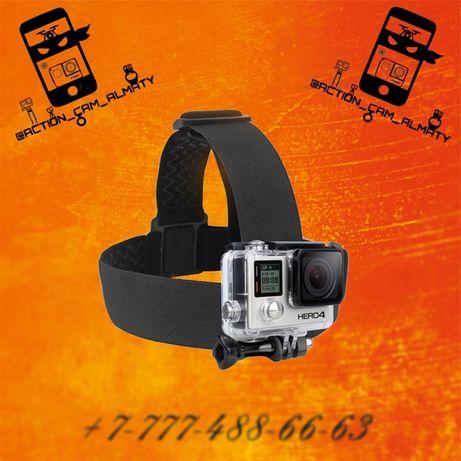 Крепление на голову для экшн камер! GoPro, Sony FDR, DJI Osmo Action,