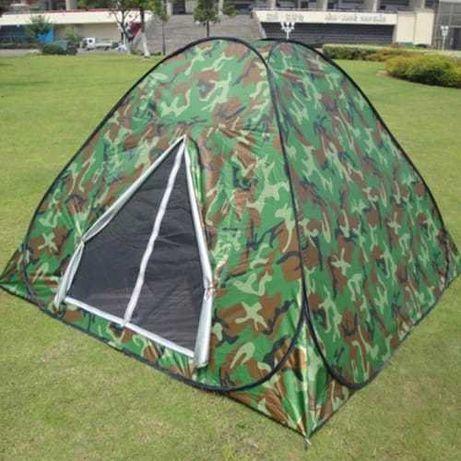 Палатка восьмерка автомат 4х местная