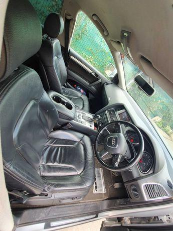 Interior 5 locuri Audi q7 an 2008 piele neagra