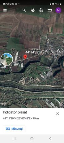 Teren de vanzare intravilan Adunatii Copaceni,comuna Varlaam