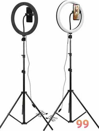 "Lampa Profesionala circulară. Ring Light led. 30cm-12"" .Trepied 210cm"