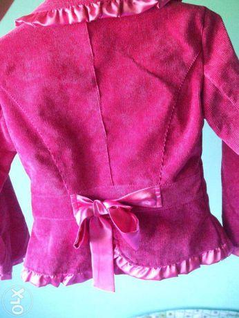 Costum catifea -fetite-NOU, plus CADOU-poseta sau pantofi asortati