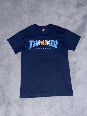 Tricou Thrasher editie limitata + sticker thrasher inclus