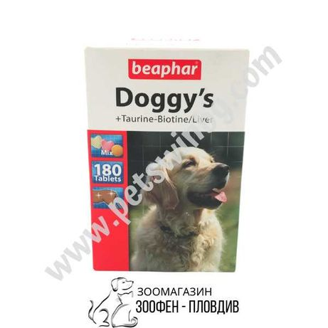 Beaphar Doggy's Mix 180бр. - Допълваща храна за Кучета