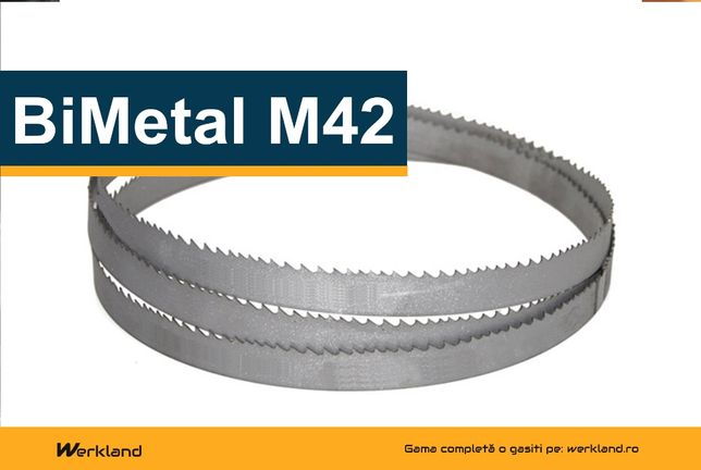 Panze panglica banzic BiMetal M42 pentru debitare metale