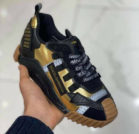 Adidasi Dolce Gabbana Gold