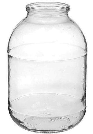 Стеклянная банка 2 литра