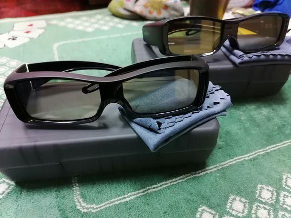 Нови 3D Очила Toshiba FTP-AG01 2-Броя Промо
