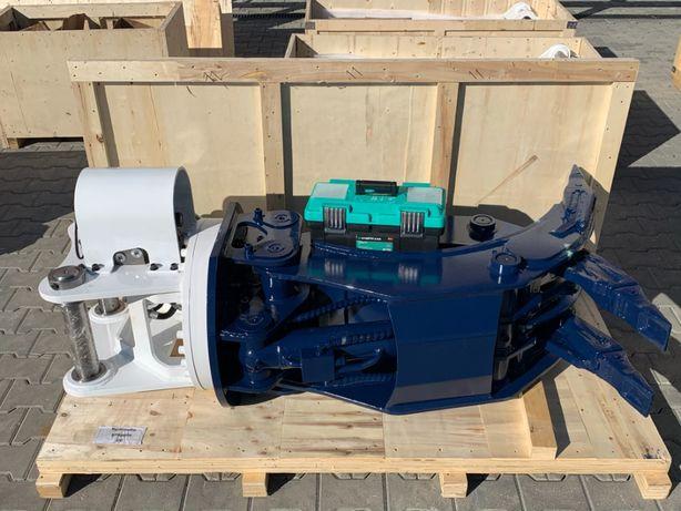 Clește fix și rotativ hidraulic - pentru excavatoare