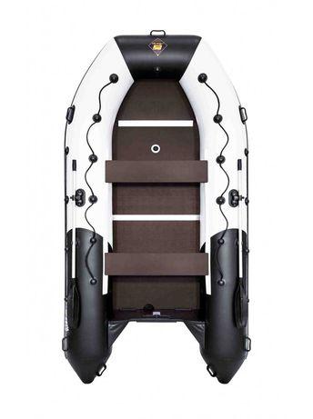 Лодка Ривьера Максима 3800 СК комби светло-серый/черный