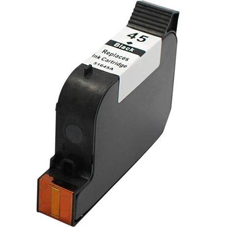 Глава за HP 45 42ml 833k чернa съвместима мастило (51645AE) HP 15 за H