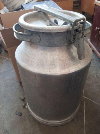 Фляга алюминиевая,новая,40 литров