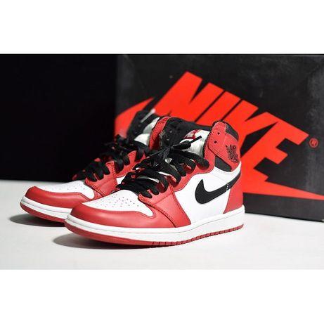 Adidasi Nike Air Jordan 1 piele