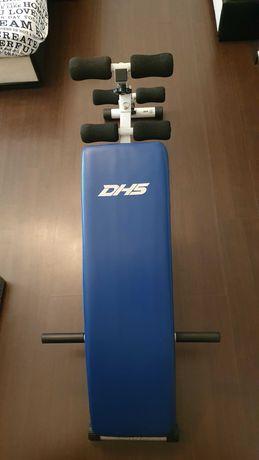 Banca fitness DHS cu doua gantere