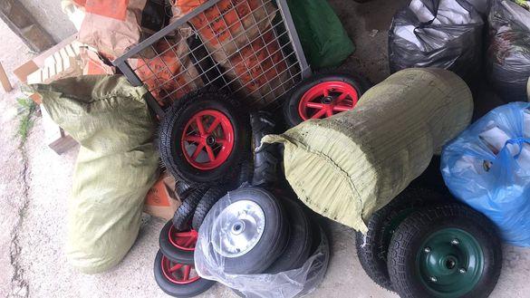 Гуми с джанти за всякакви машини и колички