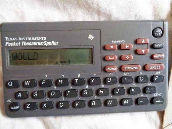 Нова Цена!Texas Instruments джобен синоним речник английски Тексас Инс