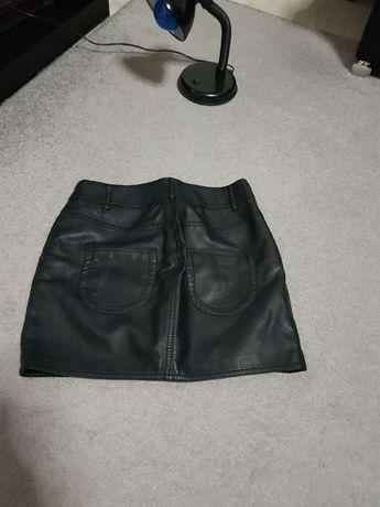 Fusta piele +cadou pantaloni piele