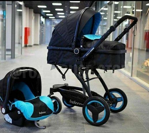 Детская коляска с люлкой 3 в 1