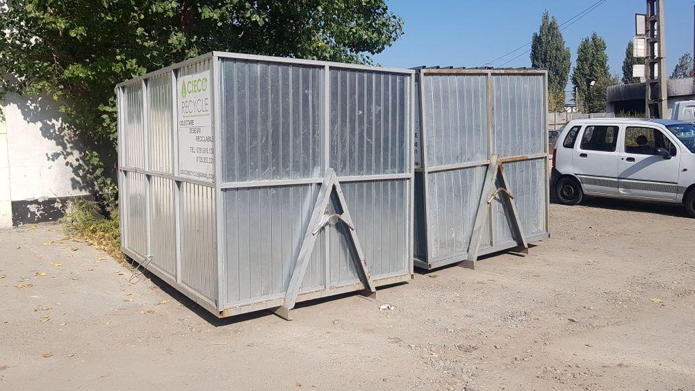 Container moloz moluz pământ gunoi deșeuri Bucuresti - imagine 1